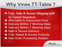 Why Vinex Table Tennis Table ?